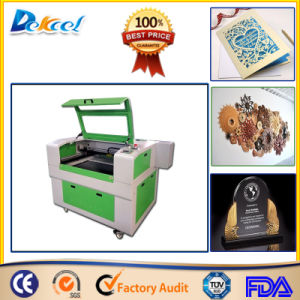 6090 100W CNC CO2 Laser Cutting Machine Leather, Acrylic, Paper pictures & photos