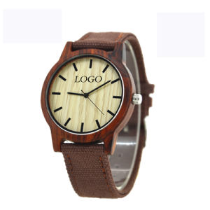 OEM Fashion Wooden Weave Watch pictures & photos