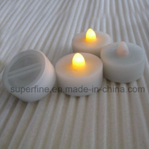 Small Electric Glittering Romantic Luminary LED Tealight Candles for Home Decoration pictures & photos