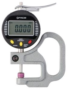 Measuring Tool Digital Thickness Gauge Ceramic Spindle Tip and Anvil pictures & photos