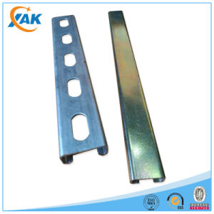 Metal Double Hole Strut Slotted Channel for Gi C Channel Sizes pictures & photos