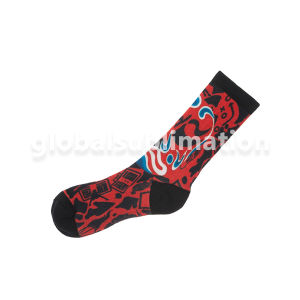 Customized Female Socks Stocking with Sublimation Blank pictures & photos