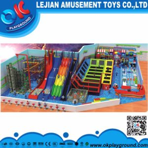 Fantastic Indoor Playground Big Trapoline Park pictures & photos