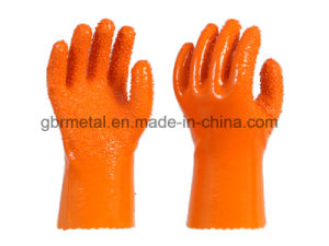 New Style PVC Non-Skid Gloves Work Gloves 868 pictures & photos