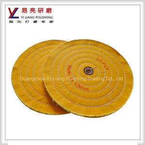 Metal Flat High Luster Full Disc Cloth Abrasive Polish Wheel pictures & photos