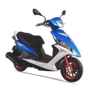 50cc/100cc/125cc EEC High Speed Alloy Wheel Gas Motor Scooter (SL100T-A1) pictures & photos