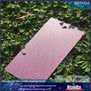 Ecofriendly Water Texture Purple Powder Coating pictures & photos