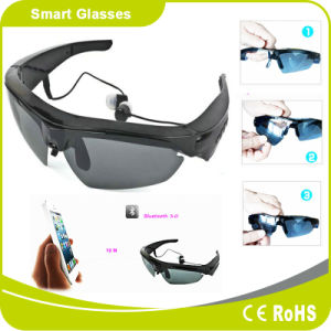 Super fashion Intelligent Smart Sunglasses with Earphone pictures & photos