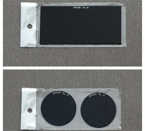 Round&Square Black Welding Glass with Ce pictures & photos