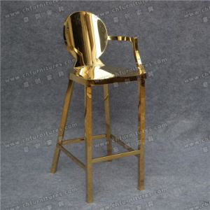 Luxury and Modern Gold Stainless Steel Chair for Banquet Wedding Hotel Dining (YCX-SS27) pictures & photos