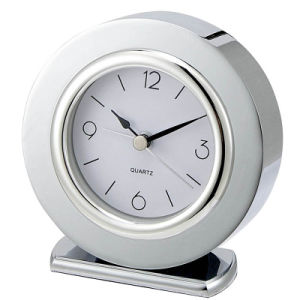 Hotel Round Desk Alarm Clock pictures & photos