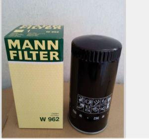 Available Filter System High-Efficience Oil Filter for Mann Oil Filter W962 pictures & photos