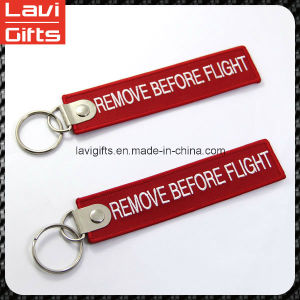 Beautiful Custom Keychain Short Lanyard with Logo pictures & photos