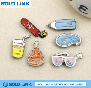 Custom Enamel Badge Cute Cartoon Metal Pin Promotion Gift pictures & photos