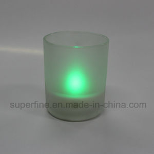Battery Operated Party Artificial Flameless Multicolor Decorative Scented LED Jar Candle Light pictures & photos