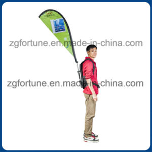 Various Shape Custom Advertising Backpack Feather Flags pictures & photos