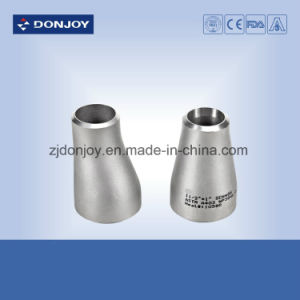 DIN Standard Stainless Steel Sanitary Welded Eccentric Reducer (40065-1) pictures & photos