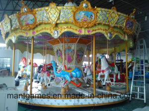16 People Carousel Rides From Mantong Made in China pictures & photos