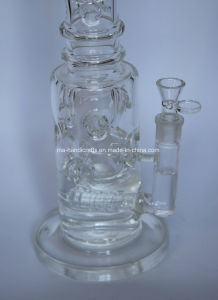"16"" Inline Borocilicate Glass Water Pipes pictures & photos"
