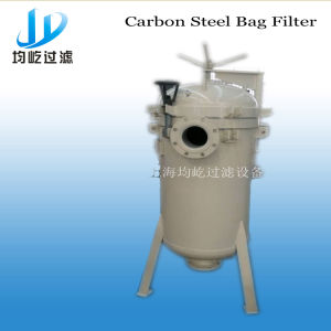 Bag Filter Pure Water Machine with Basket Strainer Housing pictures & photos
