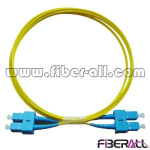 SC/PC-SC/PC Optical Fiber Patch Cord Sm Duplex pictures & photos
