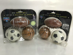 Children Mini Soccer Basketball Rugby Sports Toy Ball Set pictures & photos