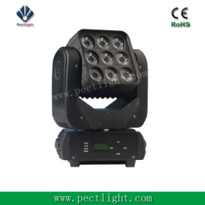 LED 9 Eyes Matrix Light Moving Head RGBW pictures & photos
