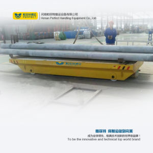 Steel Mill Use Pipe Transfer Platform on Curved Rails pictures & photos