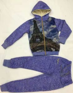 Fashion Children Sport Wear with Mesh in Children Clothes Suits Sq-17123 pictures & photos