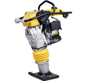 Gasoline Tamping Rammer with Roller Handle pictures & photos