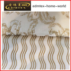 Embossed Velvet 100% Polyester Textile Fabric (EDM5097) pictures & photos