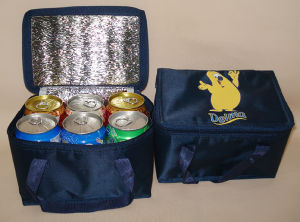 PP Woven Insulated Bottle Wine Cooler Bag