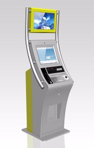 Lobby Style Self-Service ATM Payment Kiosk, ATM Kiosk, ATM Machine pictures & photos