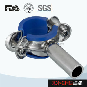 Stainless Steel Food Grade Pipe Clamp with Blue Sleeve (JN-PL2002) pictures & photos