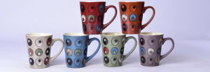 Hot Sale 12oz Ceramic Hand-Painted Mugs and Cups pictures & photos