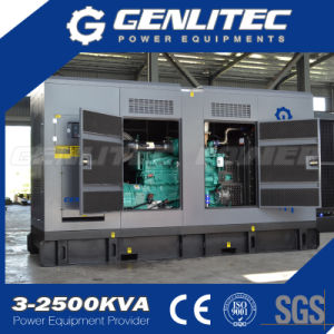 100kVA 200kVA 250kVA 300kVA 400kVA Soundproof Cummins Power Silent Electric Diesel Generator pictures & photos