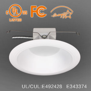 0-10V Dimmable 6 Inch Round LED Down Light with E26 or Gu24 Base pictures & photos