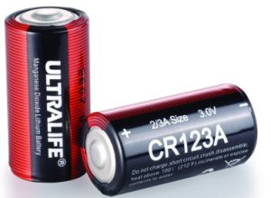 3.0V Battery with UL Ce SGS MSDS Certificates (CR123A)