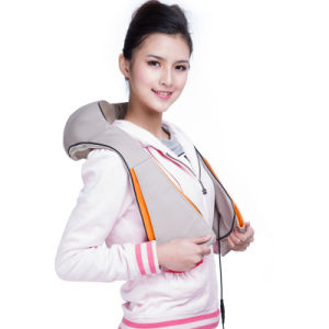 Neck Pain Relief Far Infrared Healthcare Massage Belt pictures & photos