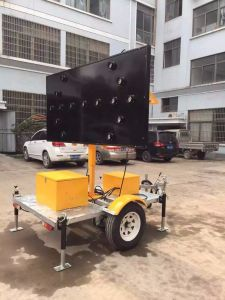 Mobile Solar LED Arrow Board Trailer pictures & photos