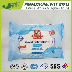Clean Dogs Body Paws Pet Facial Cleansing Wipes pictures & photos