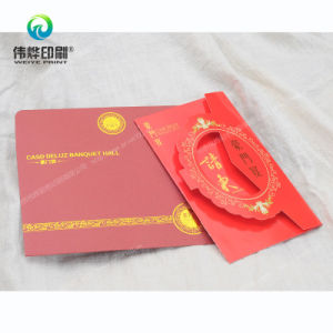 Chinese Traditional Happiness Printing Greeting Card pictures & photos