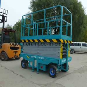 10m 1000kg Mobile Scissor Lift/Hydraulic Lift/Hydraulic Ladder Lift pictures & photos