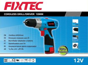 Fixtec Double Speed 12V Battery Drill pictures & photos