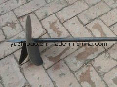 Welding Metal Screw Anchor, Powder Coated Ground Anchor pictures & photos