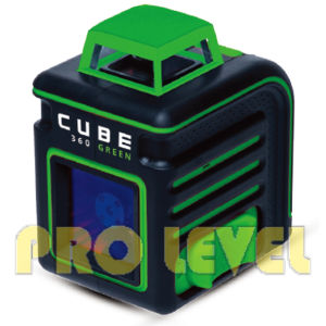 Cube 360 Green Line Laser Level pictures & photos