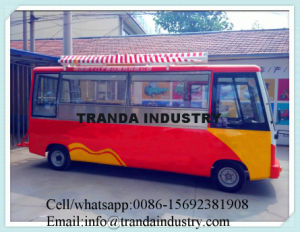 2016 Electric Hot Dog Mobile Food Bus for Cooking pictures & photos