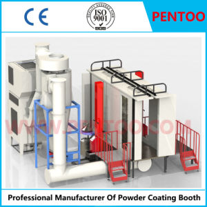 Powder Coating Booth for Cylinder with Good Quality pictures & photos