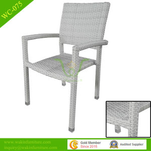 Turkish Synthetical Rattan Outdoor Stacking Dining Chair