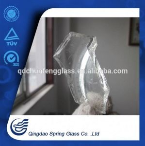 White Clear Bottle Glass Cullets pictures & photos